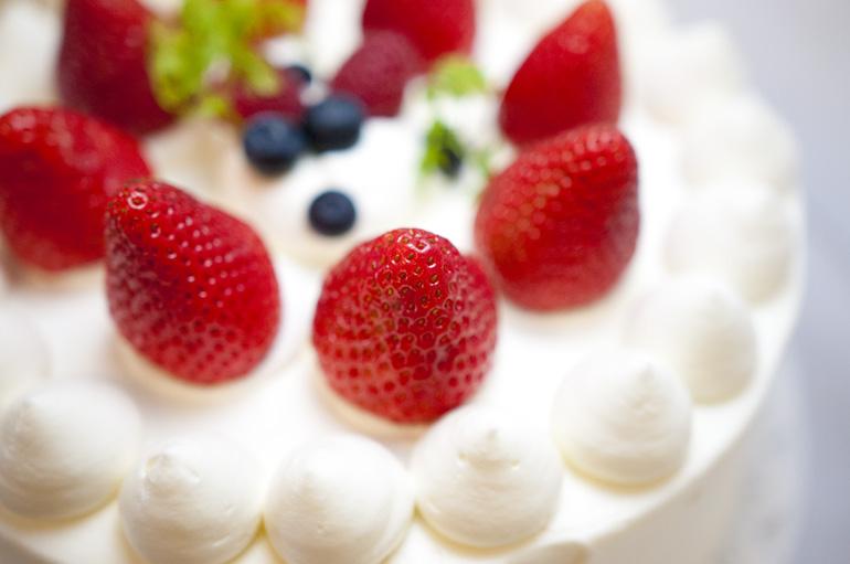 想い出のケーキ