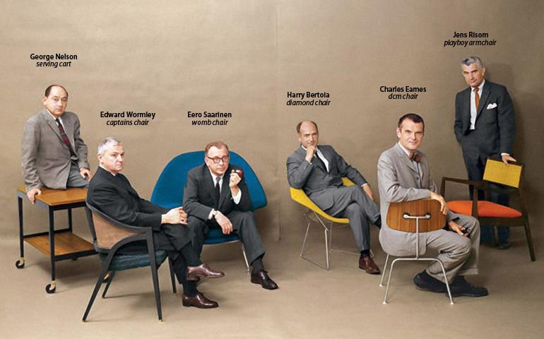ミッドセンチェリー・モダンデザインの巨匠たち。